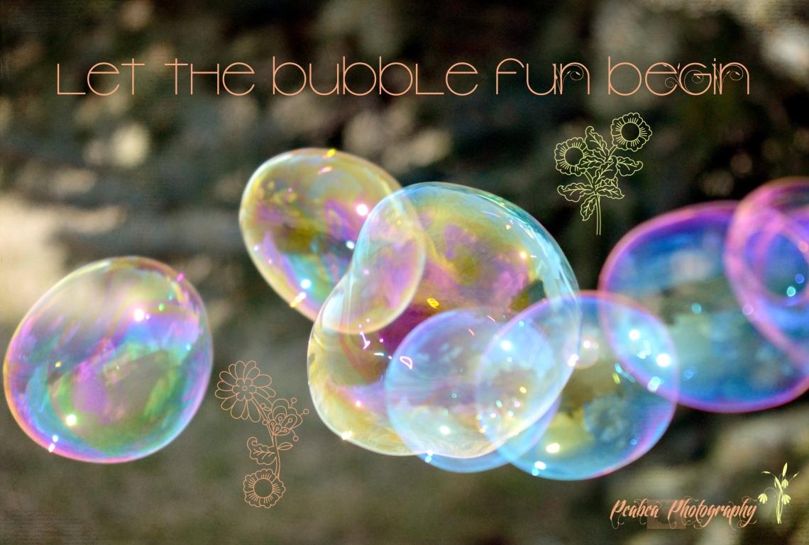 let the bubble fun begin for TT