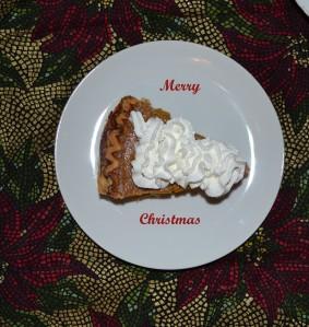 Pumpkin Pie Merry Cmas