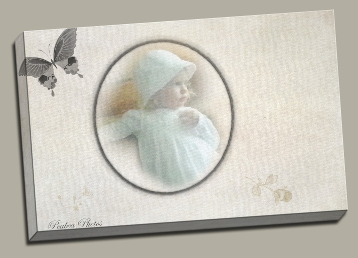 Eliyyah white dress gallery wrap butterflies