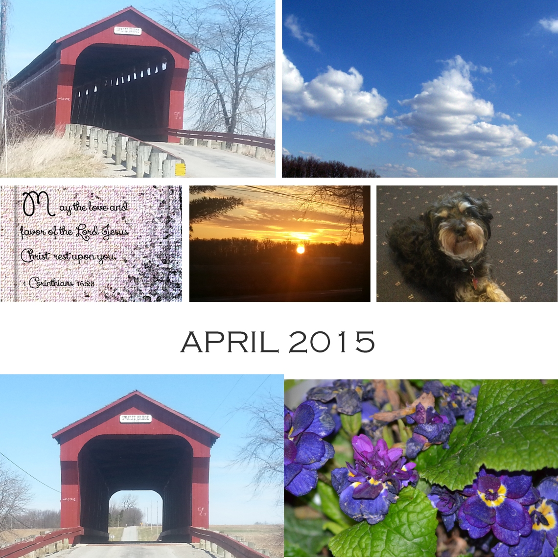 April Collage for Mona's