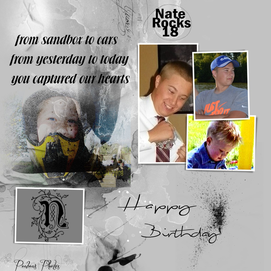 Nate 18 bday for FB
