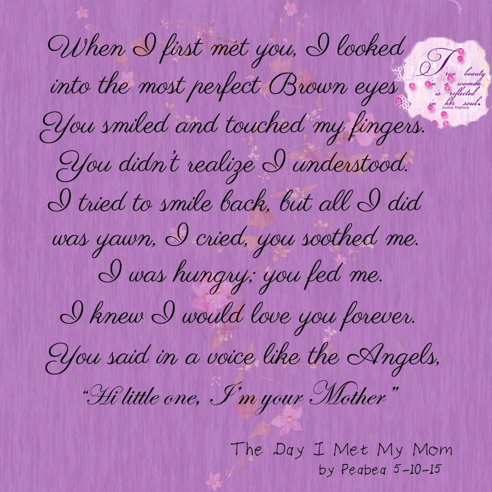 The Day I Met My Mom
