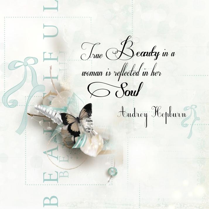 True Beauty quote Audrey Hepburn