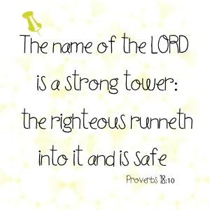 Proverbs 18 10