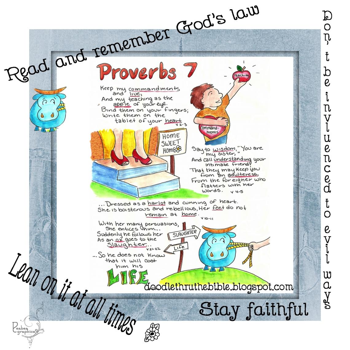 Proverbs 7