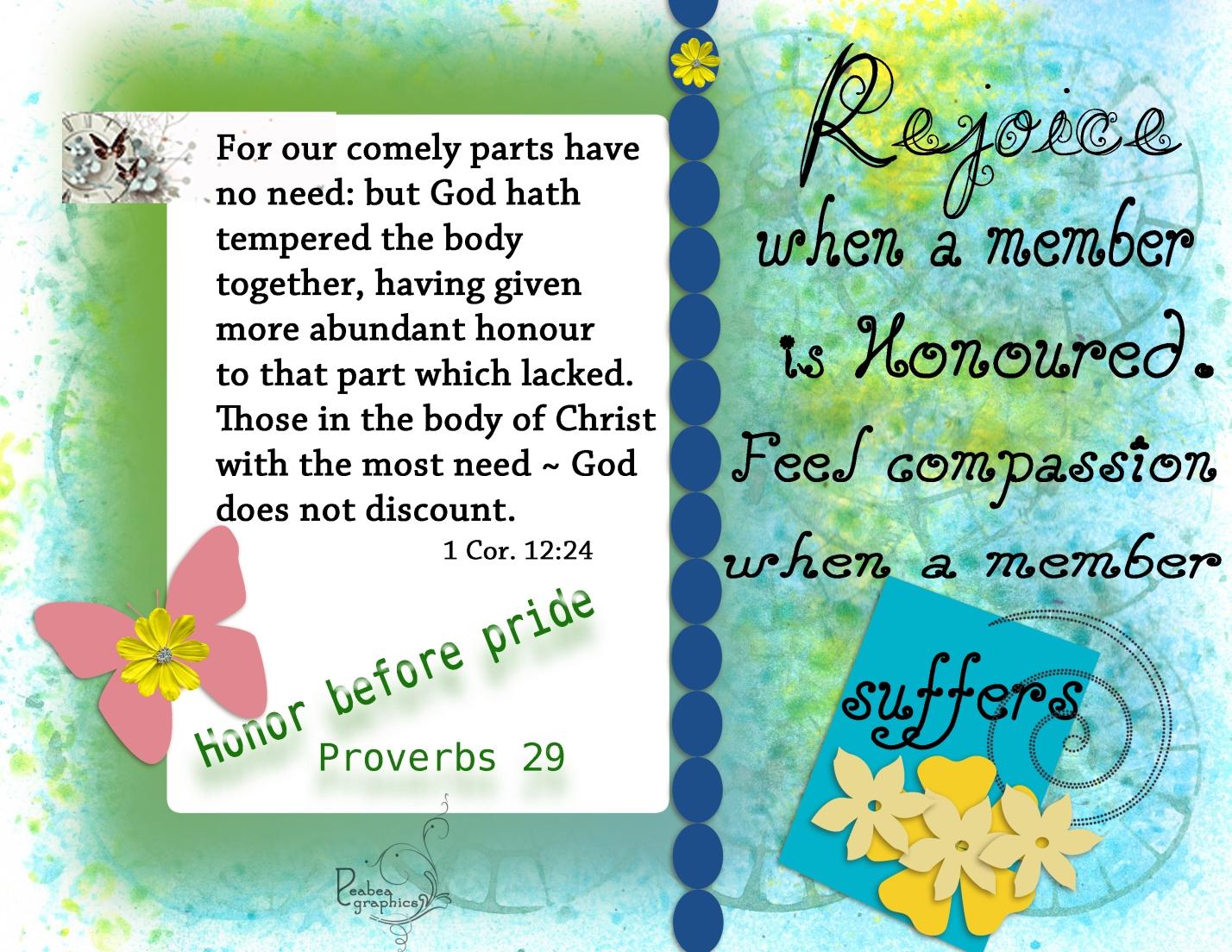 1 Cor 12 24
