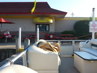 A favorite was going to McDonald's by boat or Taco Bell or the others around the lake. :)