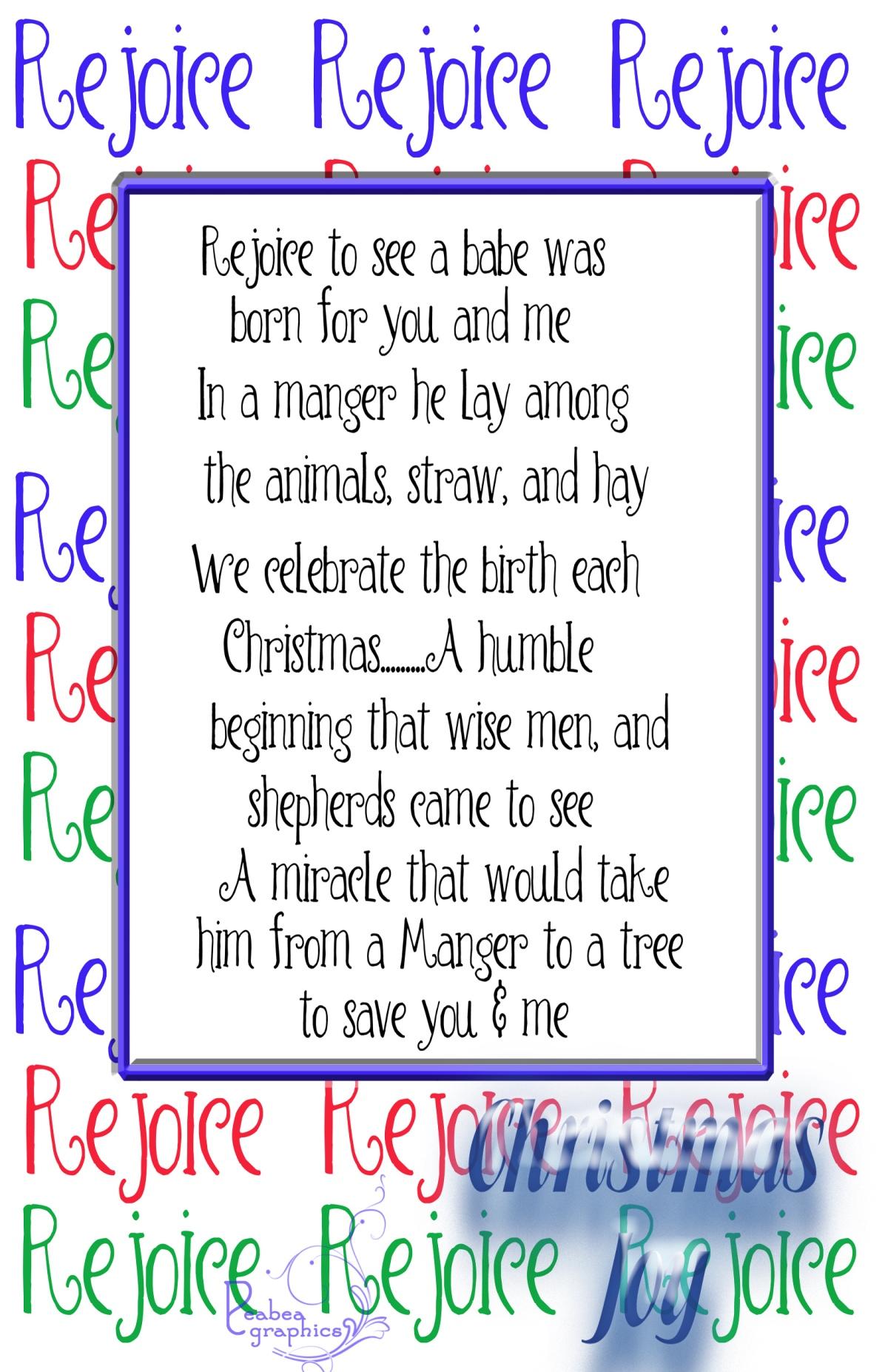Day 16 Rejoice 2