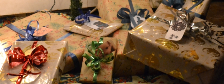 Presents cut out