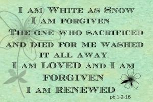 Renewed Forgiven