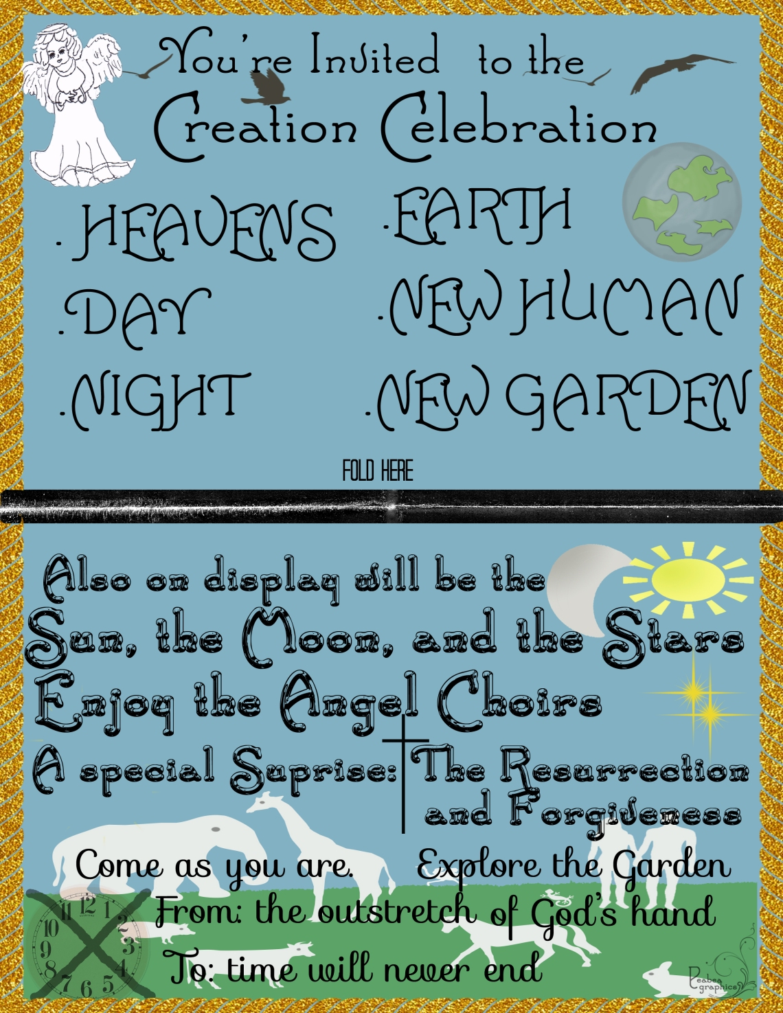 Creation Invitation