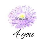 lavendar-flower-freebie-4-you-button
